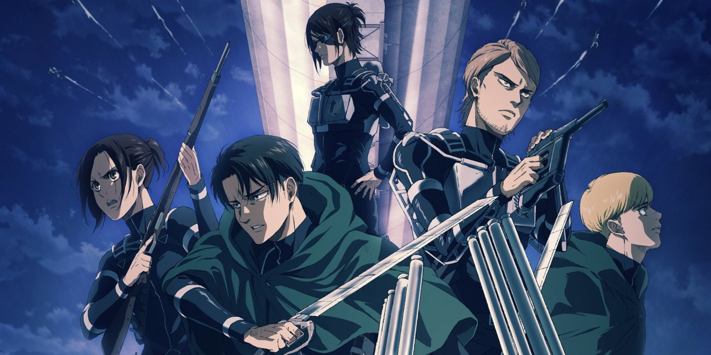 Attack on Titan Season 4 Is All Set To Release On December 7, 2020 On Crunchyroll