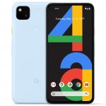 Google pixel 4A adds a new colour option 'Barely Blue' being a Limited edition
